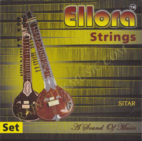 Ellora sitar strings for Ravi Shankar style sitar