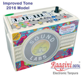 Raagini digital tanpura machine from Soundlabs