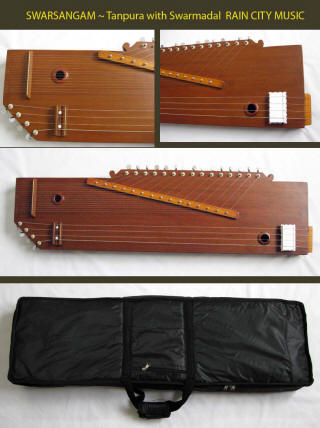 Swarsangam tanpura with swarmandal