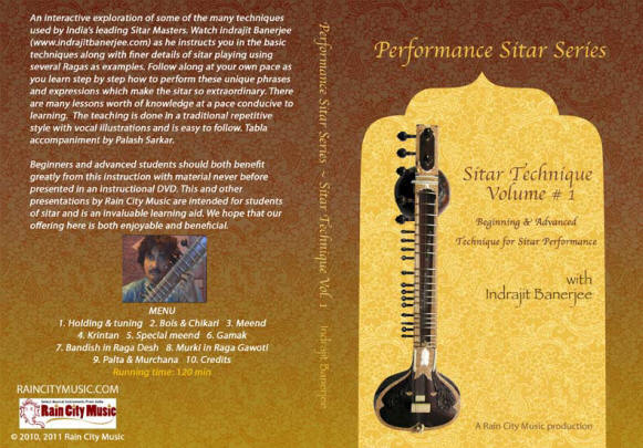 Sitar Technique DVd how to play sitar sitar lessons